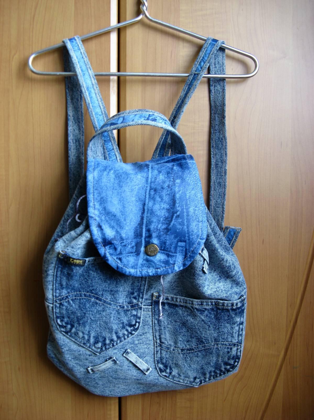 Как украсить джинсовый рюкзак своими руками фото