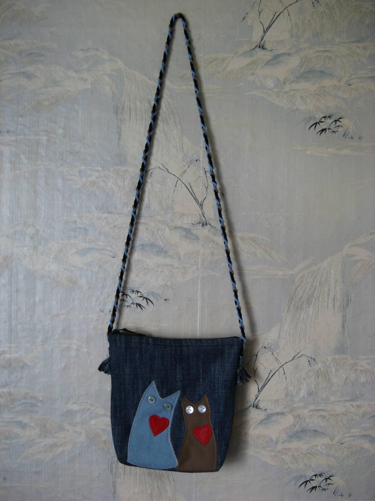 Маленькая джинсовая сумка своими руками 572
